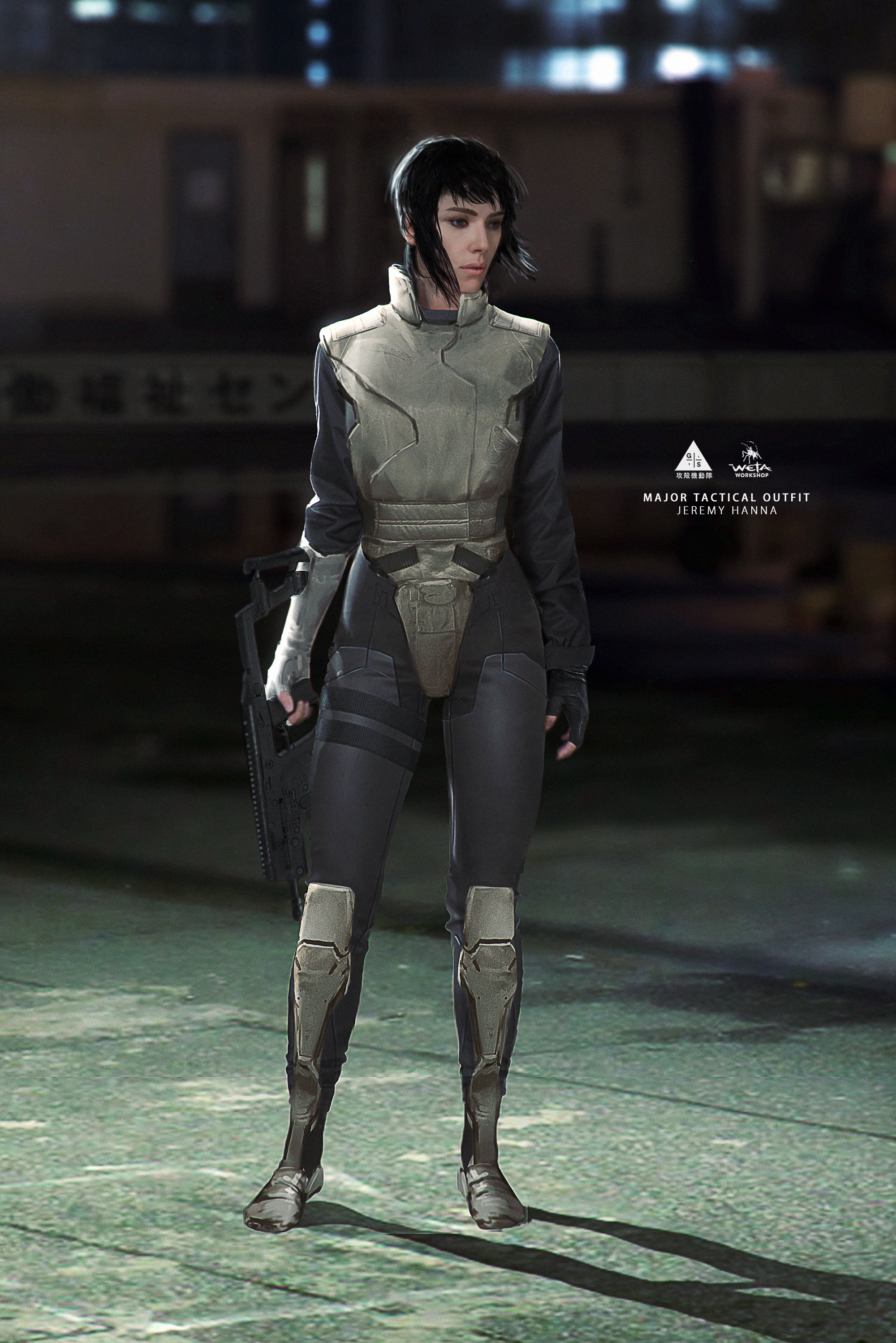 Major Tactical Outfit - Artist: Jeremy Hanna