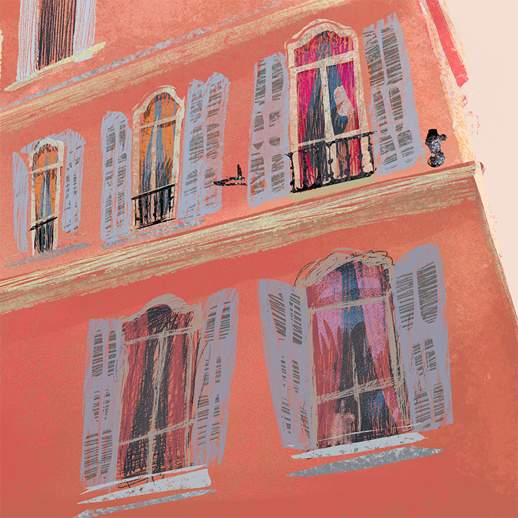 Anais marmonier south of france nice illustration anais marmonier french riveria 0004 3 south of france nice illustration anais m