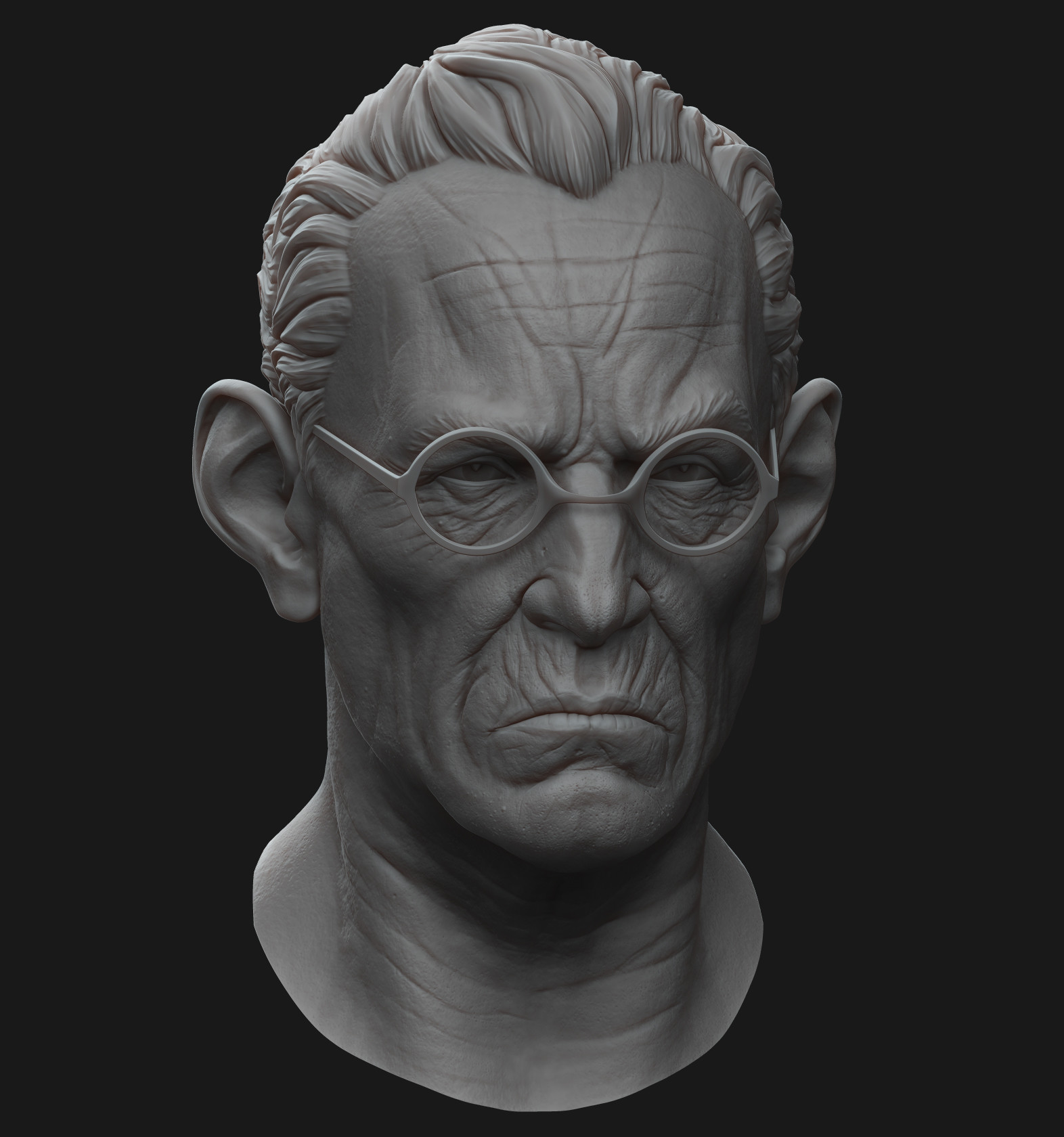 Character Head Sculpt