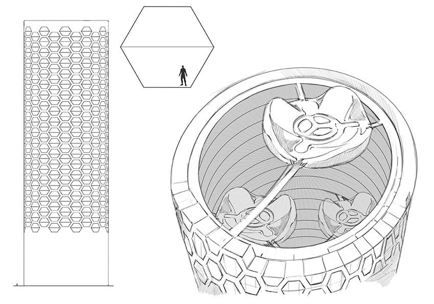 Yun nam 17 03 24 cyberpunk building sketch
