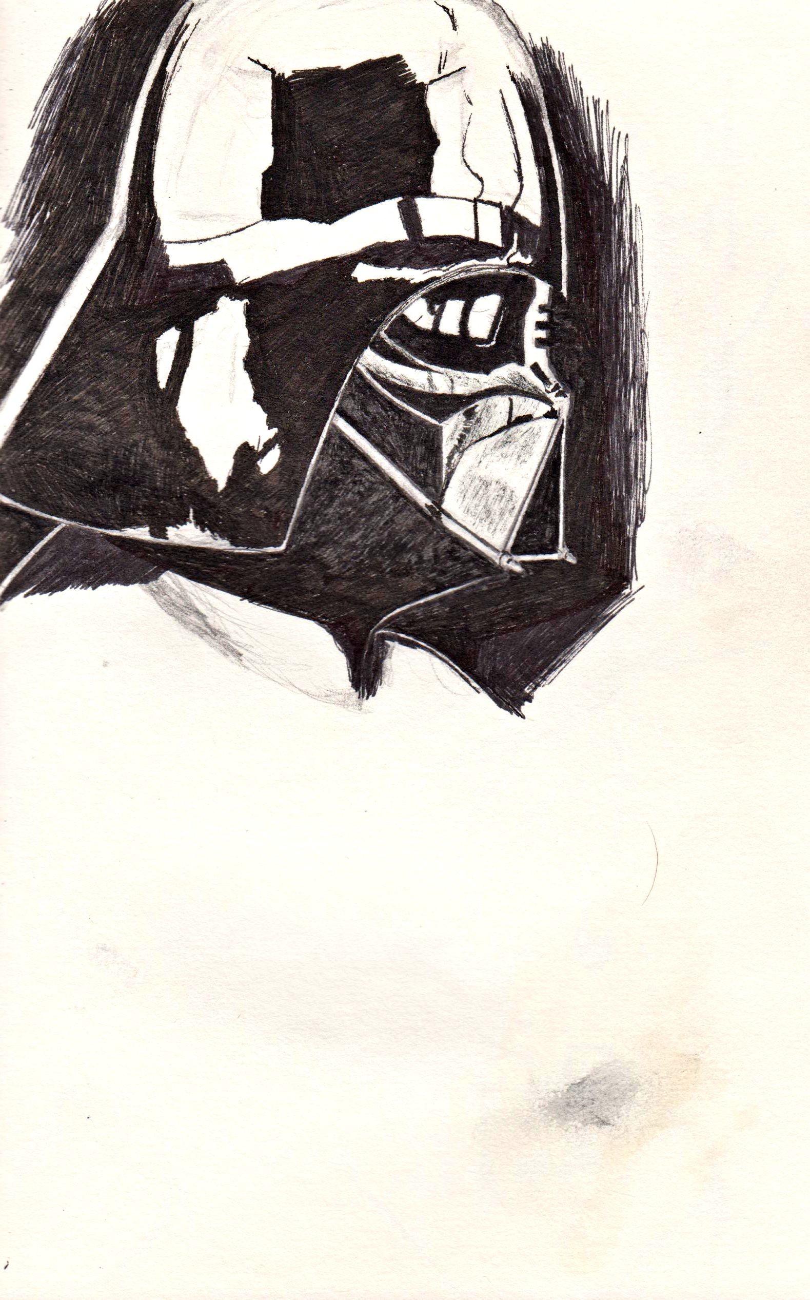 ArtStation  Darth Vader sketch Robert Coveney