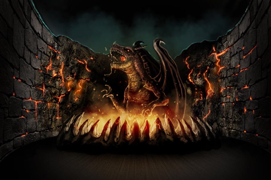Dragon Lord Boss Battle