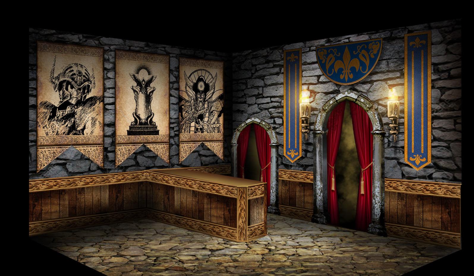 Castle Foyer