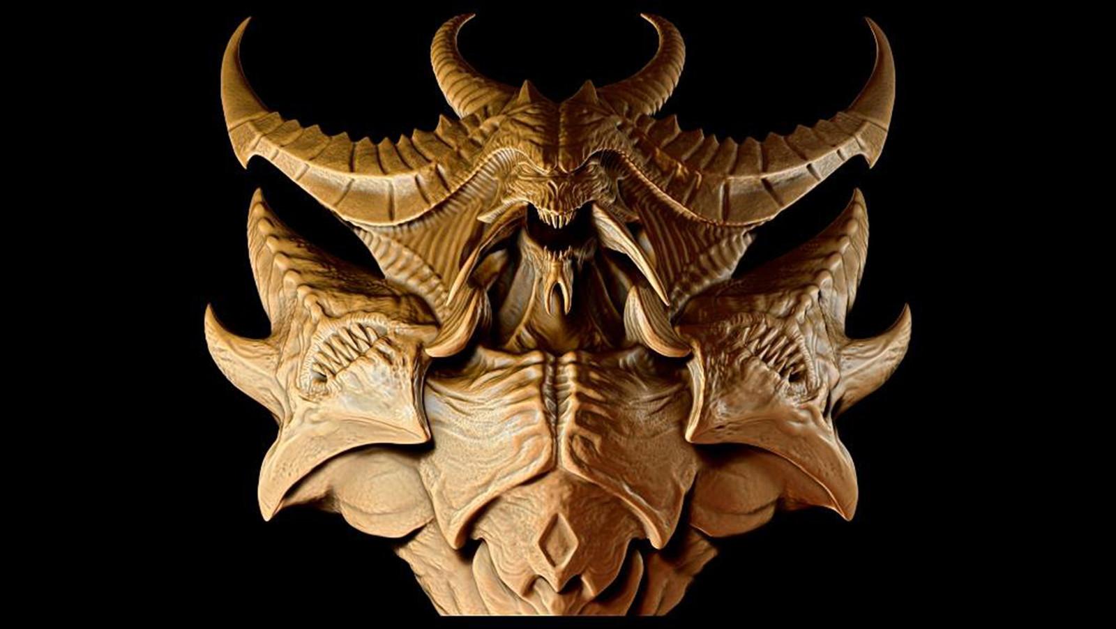 Diablo 3 Bust STL