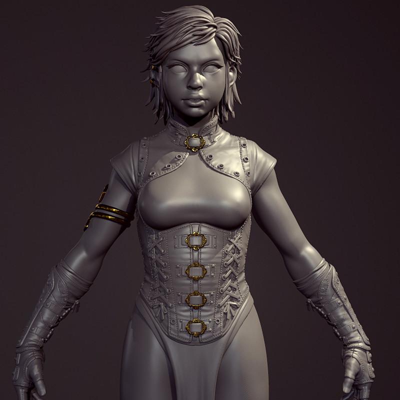 Titan's Curse - Hero Character
