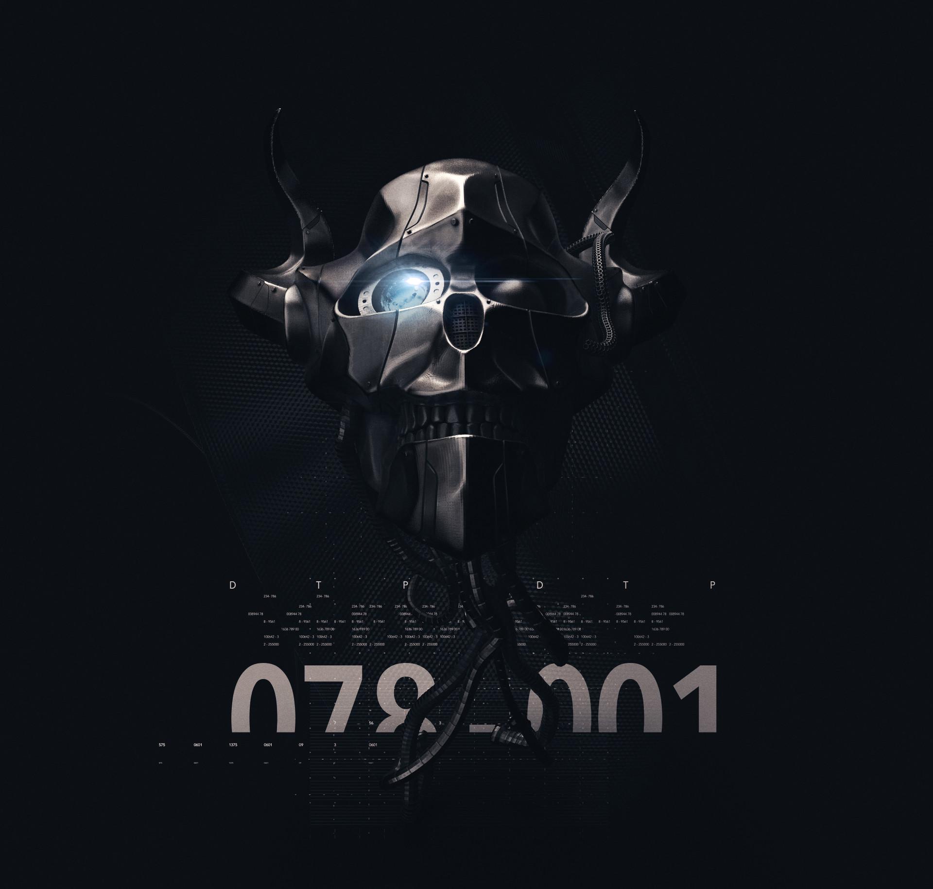 Ry cloze skull robot22