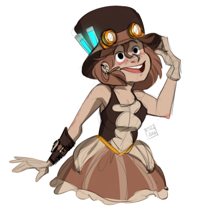 Marie razny senatore steampunk kina by kina axian darlb32