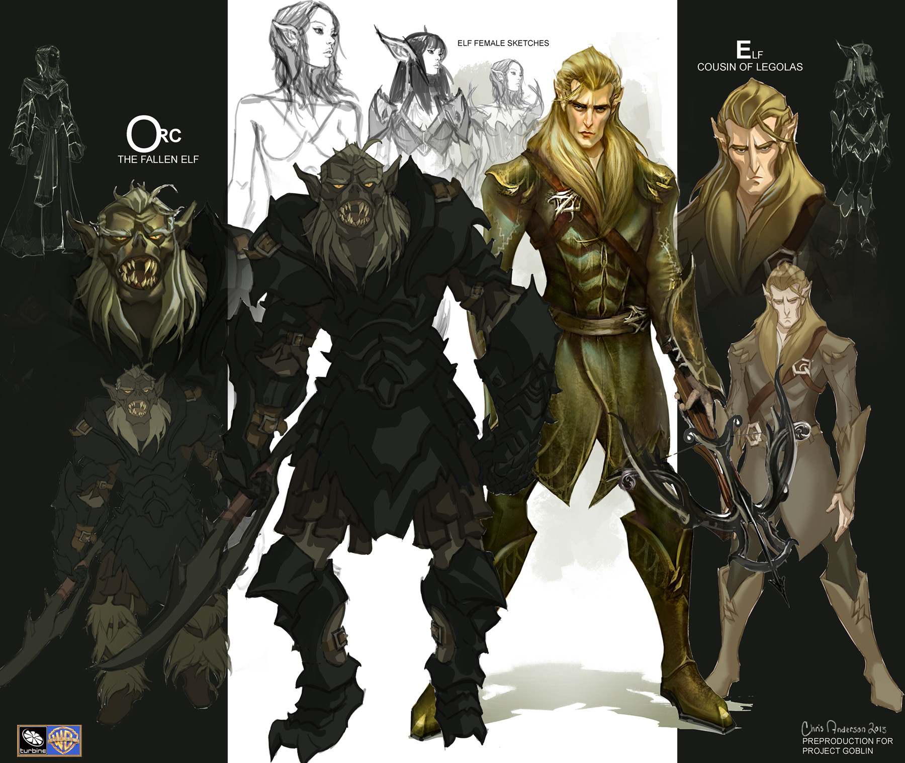 Elf And Orc