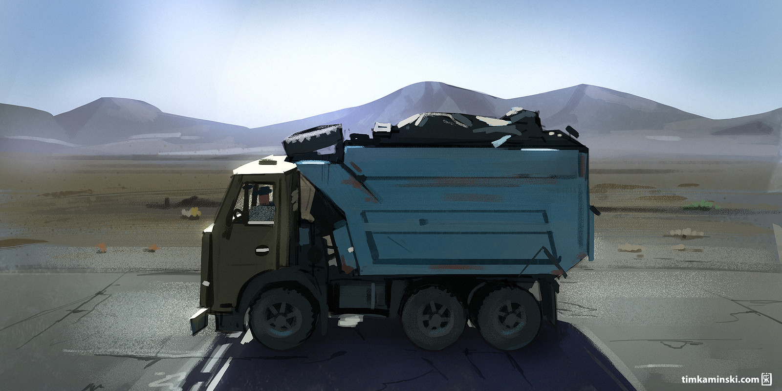 Digital Plein Air: Truck