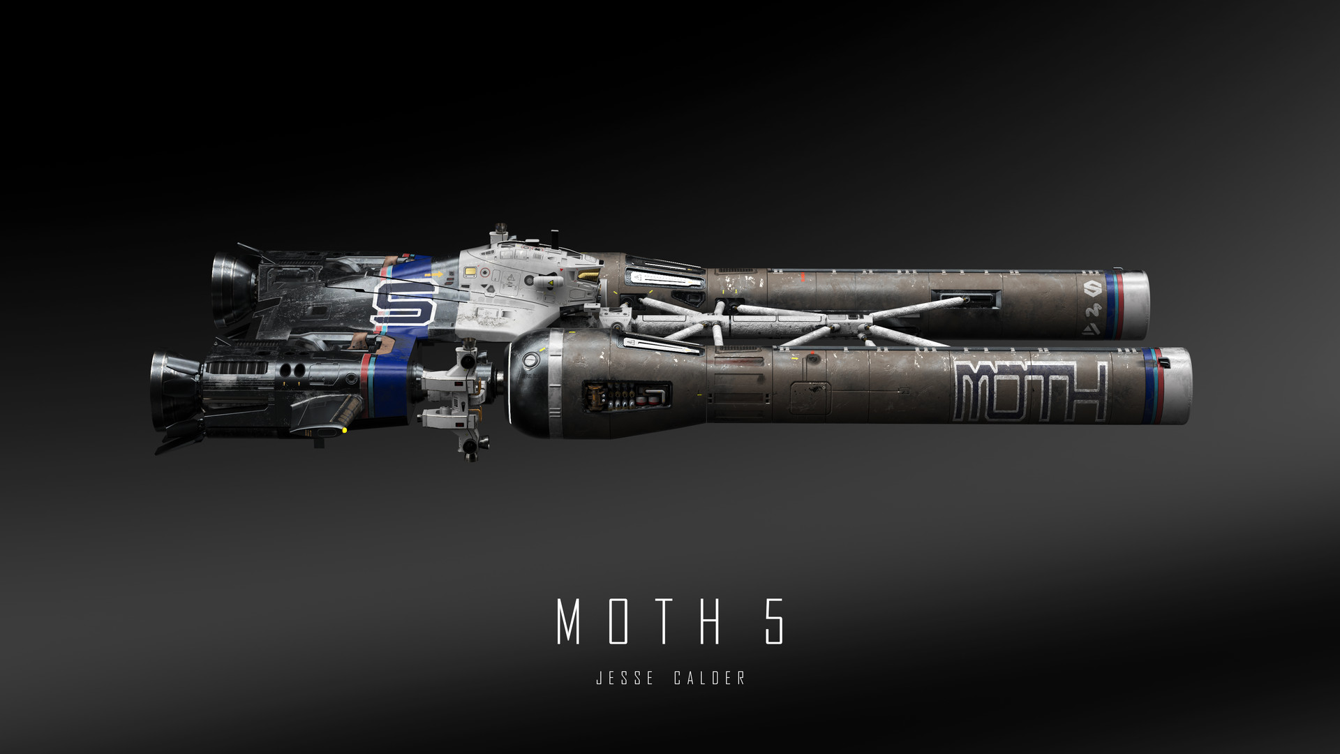 Jesse calder moth render 051 titled