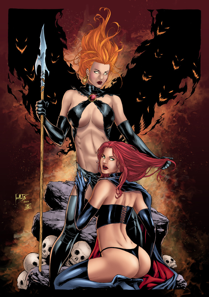 Goblin Queen and Black Queen