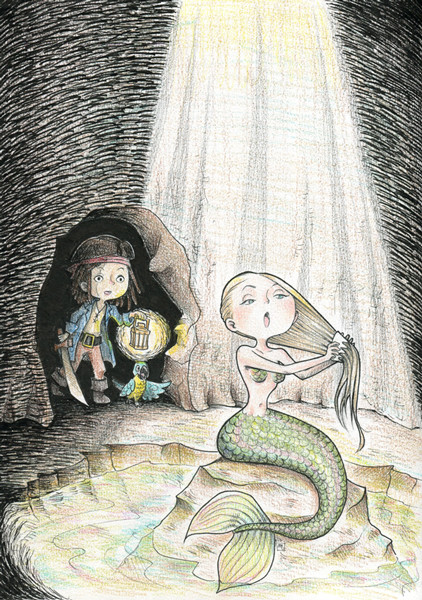 Mini Jack meets a mermaid