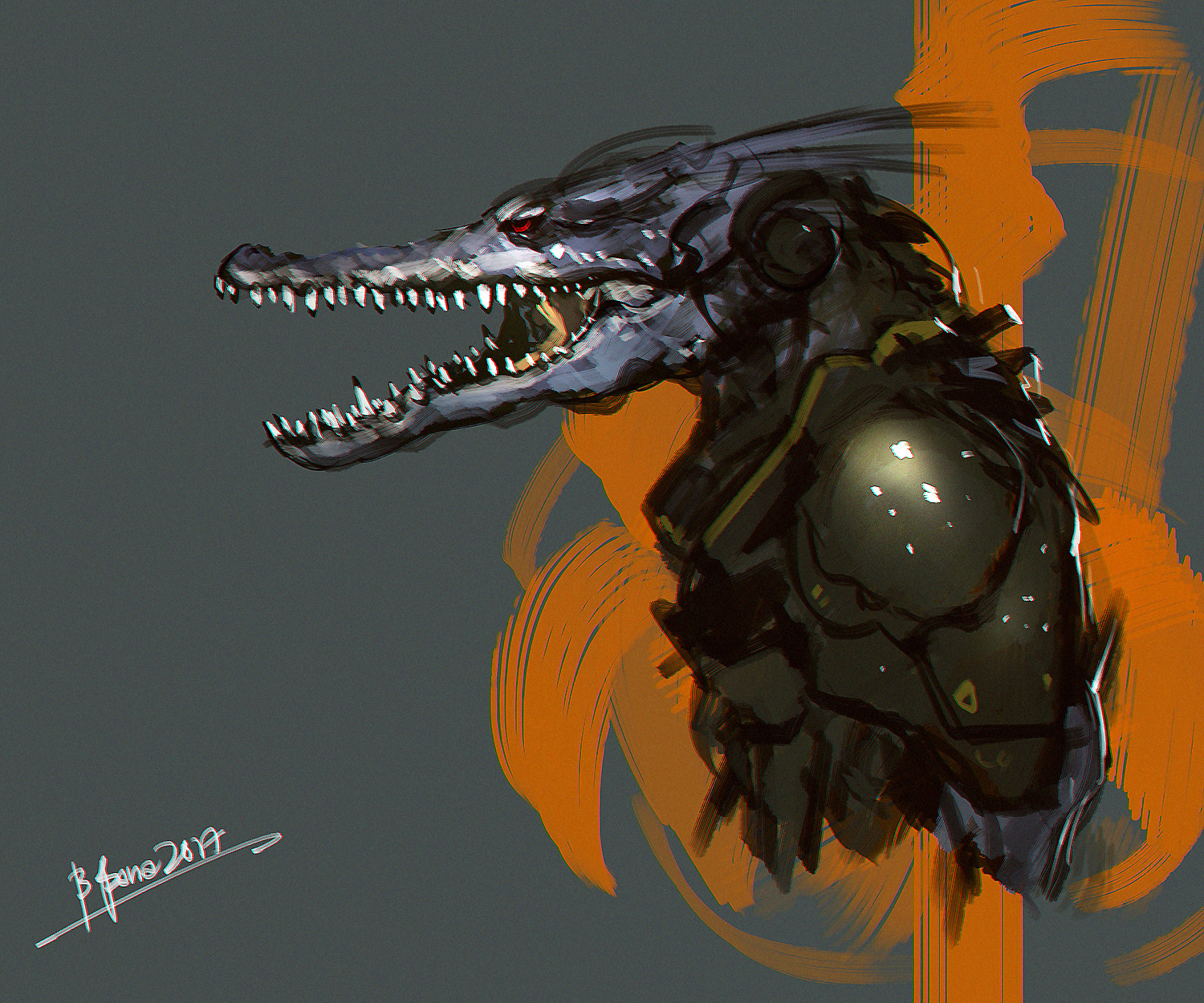 Benedick bana alligator loress