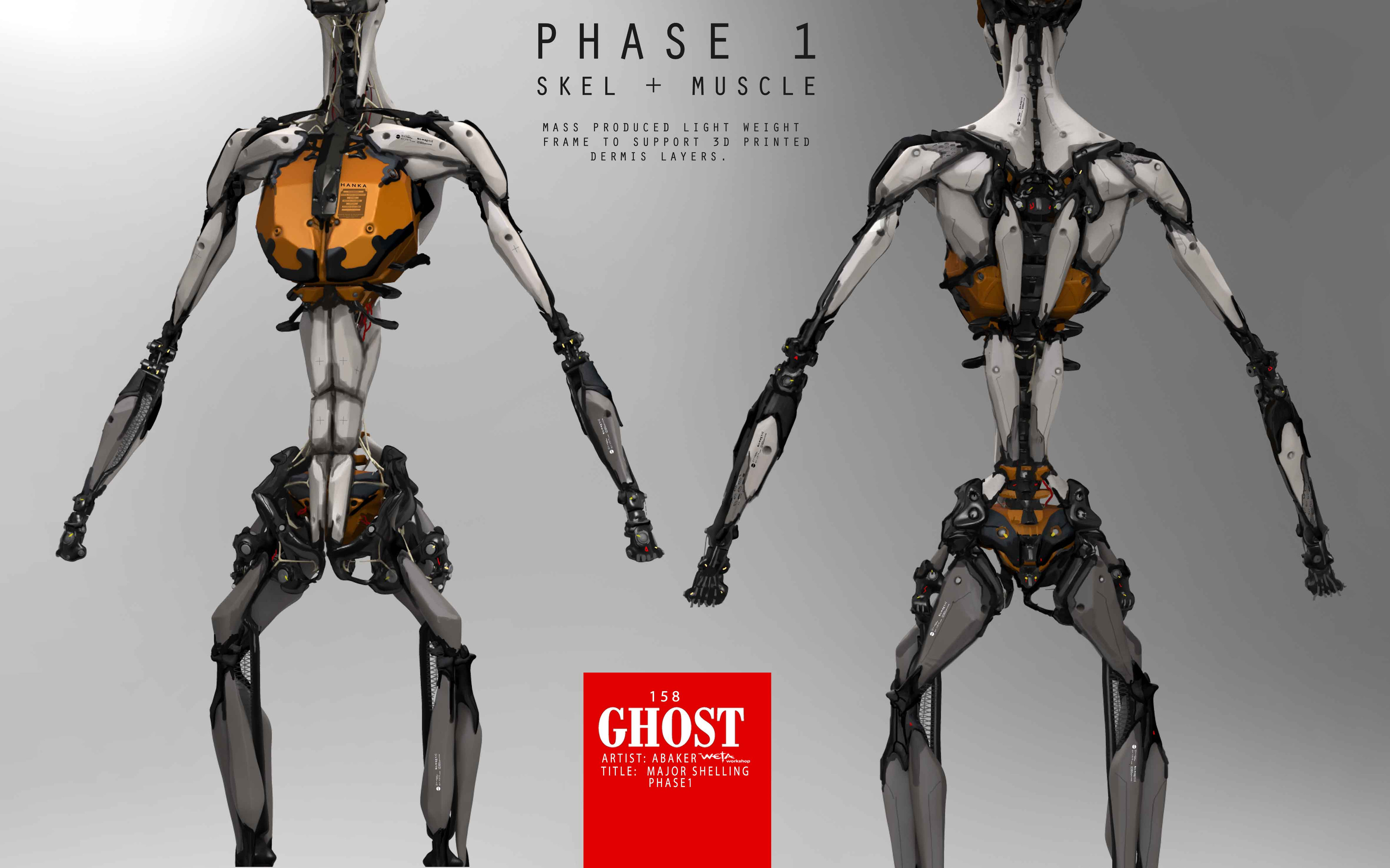 Major Skeleton Layers - Artist: Andrew Baker