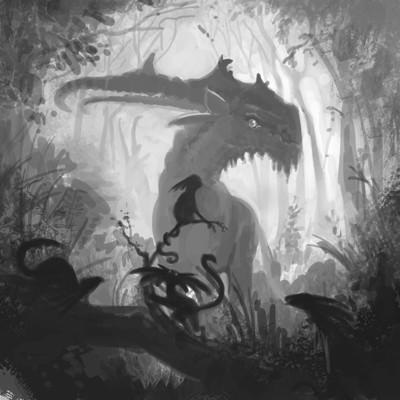 Edin durmisevic fantasy creature
