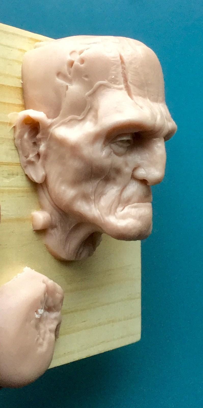 Frankenstein/ super sculpy