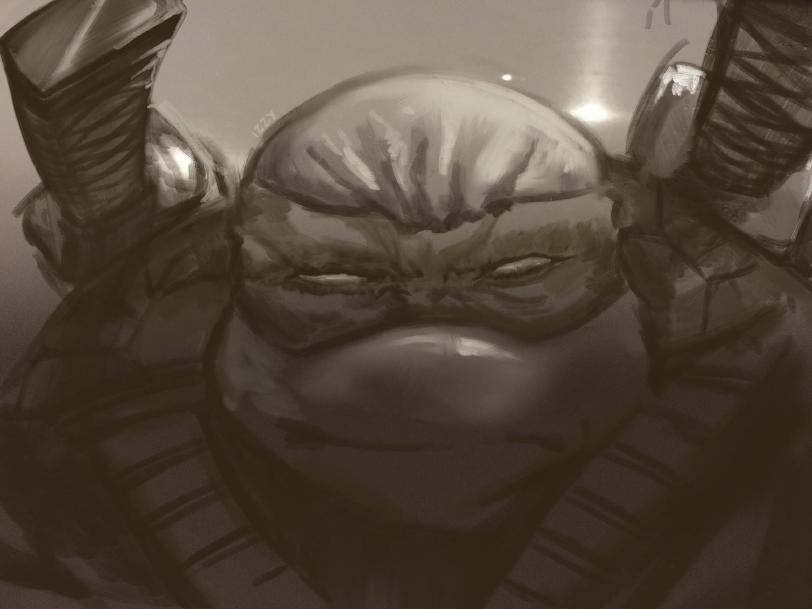 Ninja turtle scribble