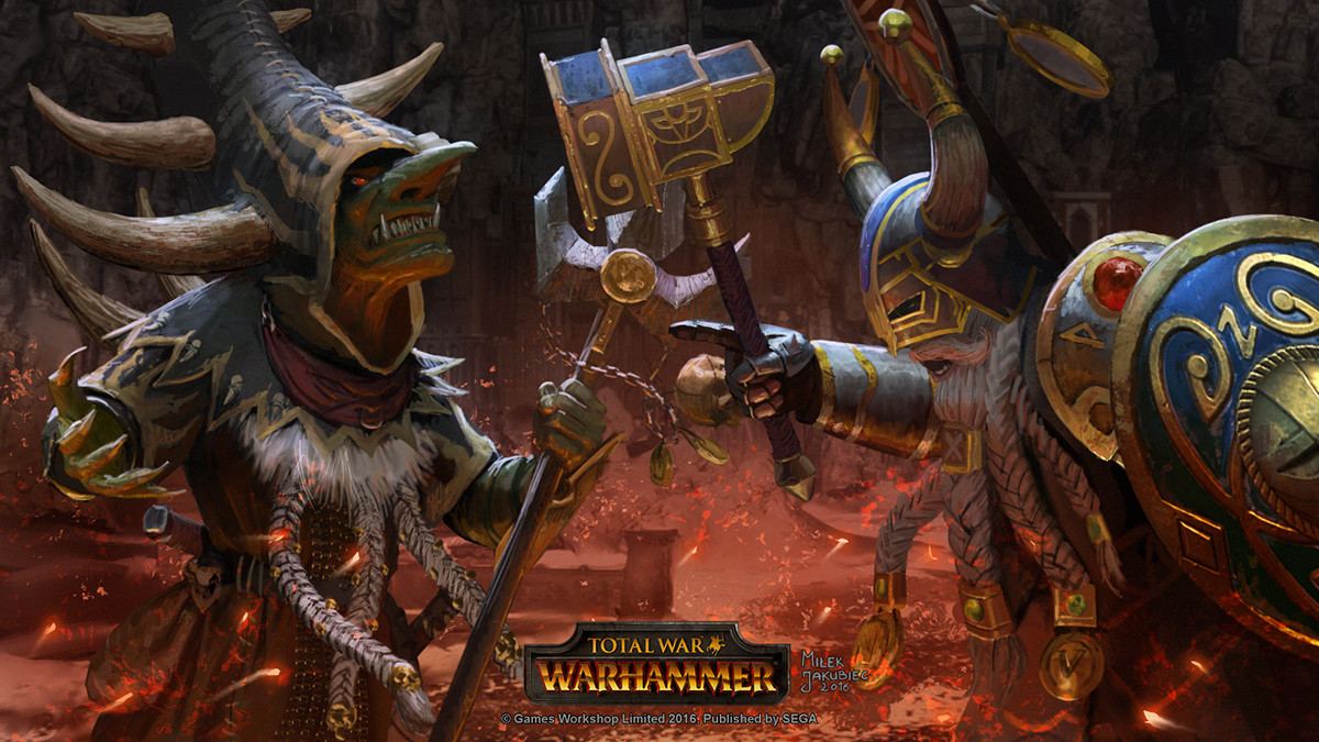 Painted for Total War: WARHAMMER - The King and the Warlord