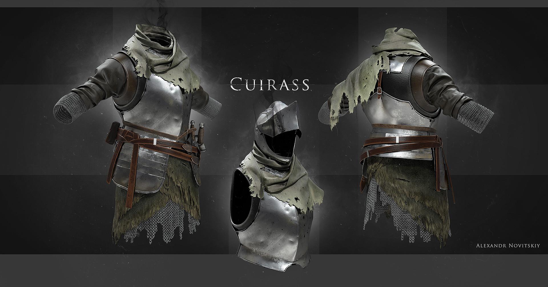 Alexandr novitskiy dark knight cuirass