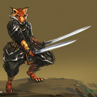 Benedick bana fox swordsman lores