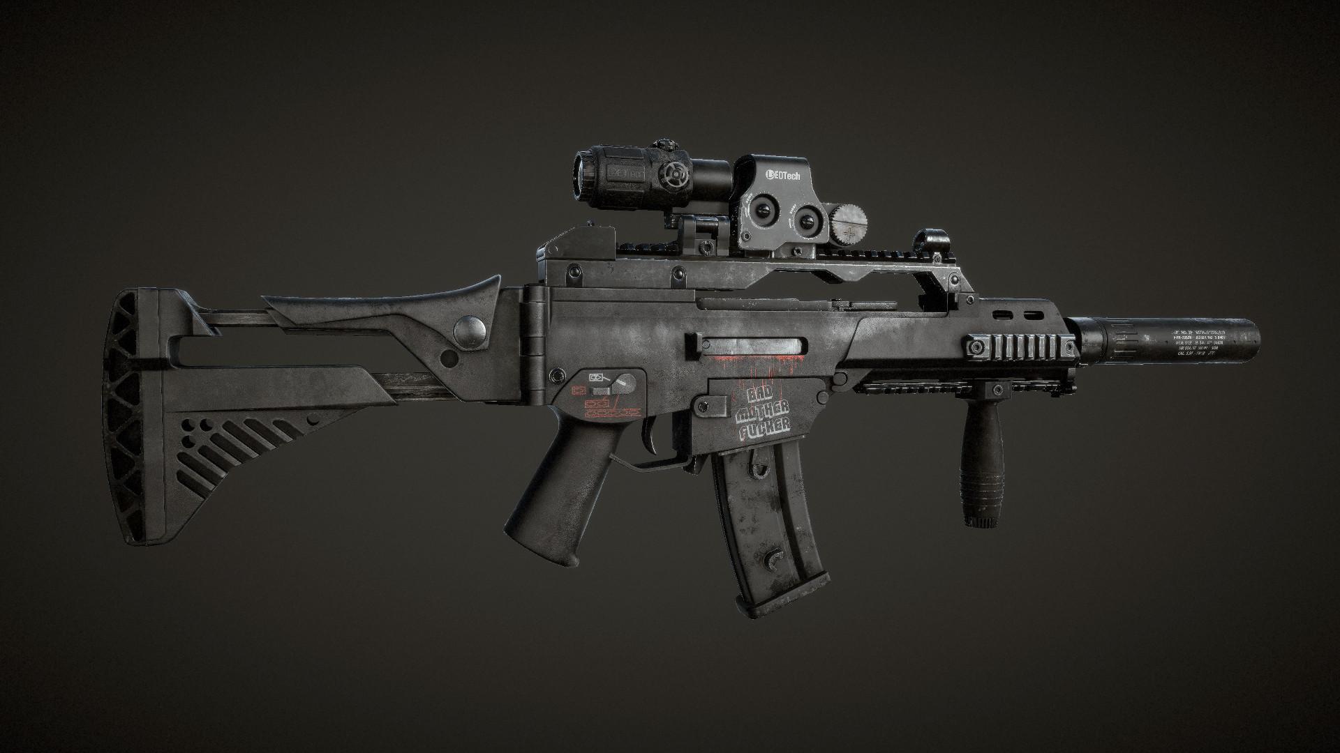P 233 Ter Gazs 243 Hk G36c Rifle
