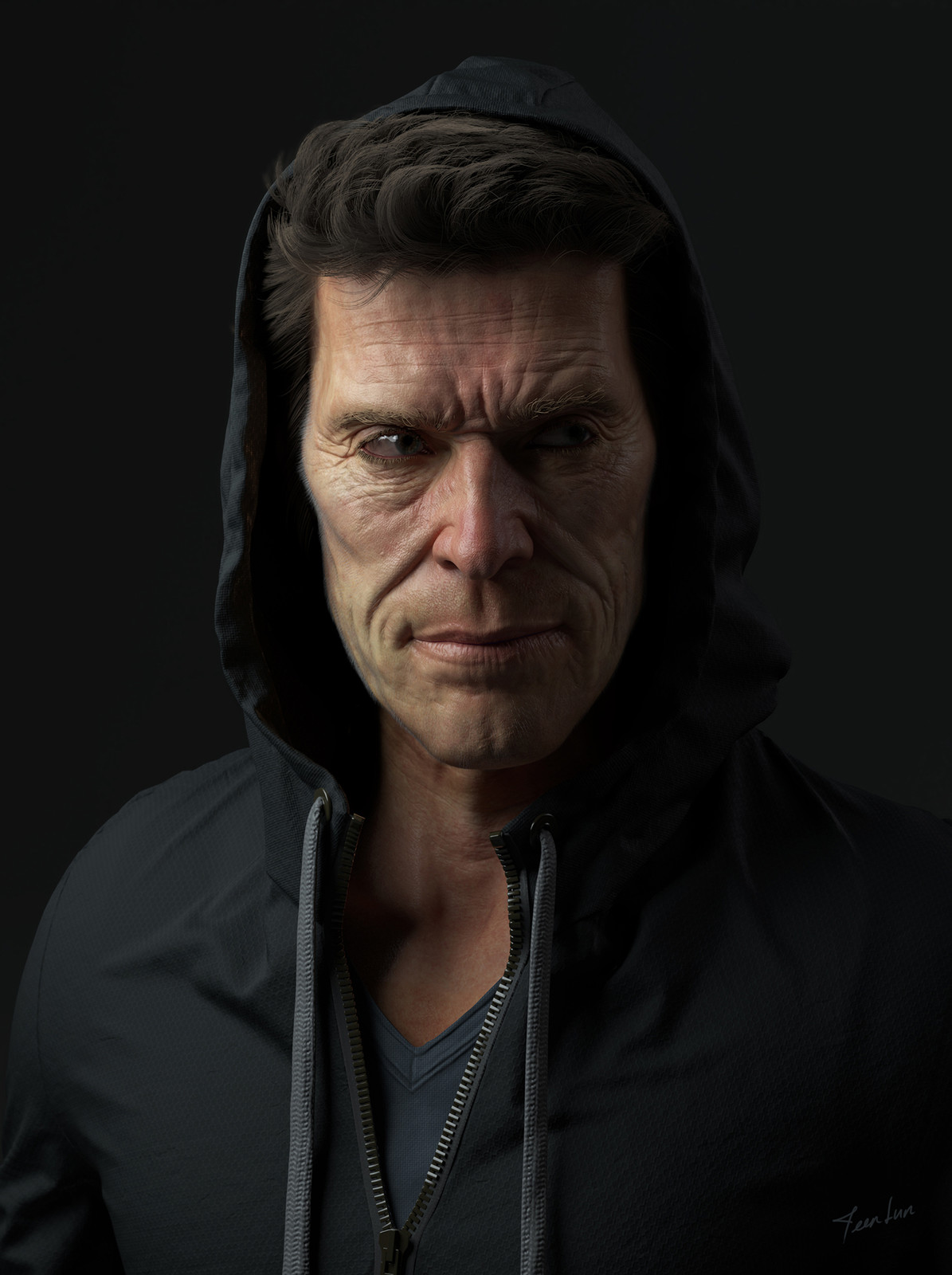 The Portrait of Willem Dafoe 2
