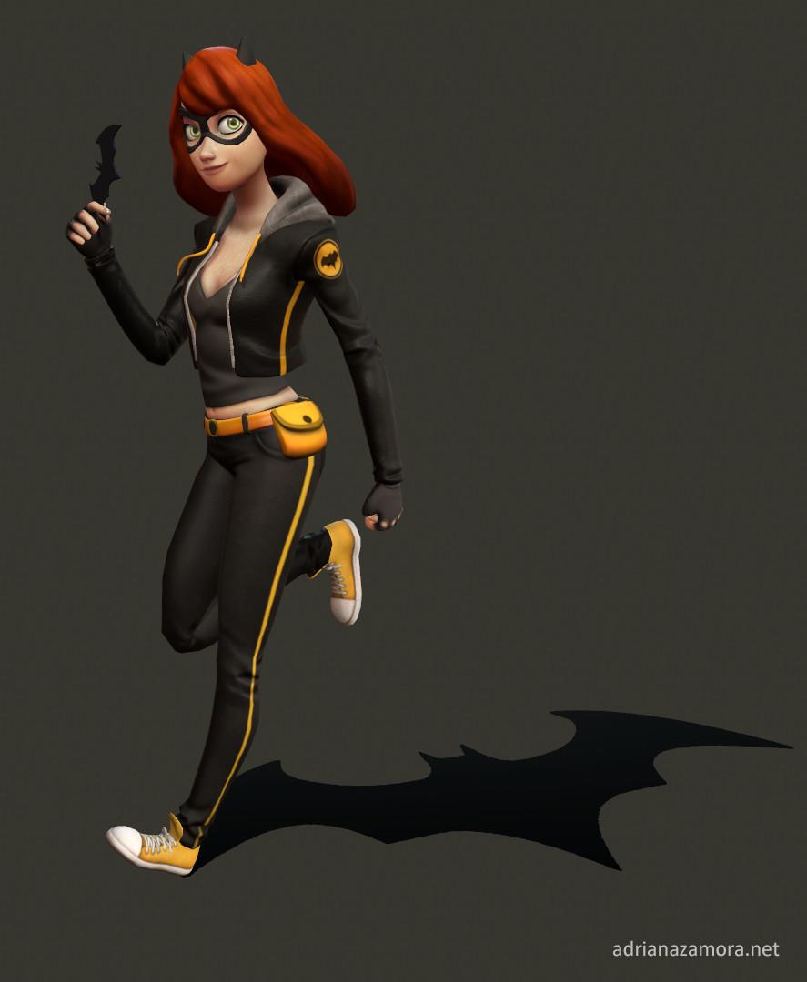 Adriana zamora batgirl adrianazamora1