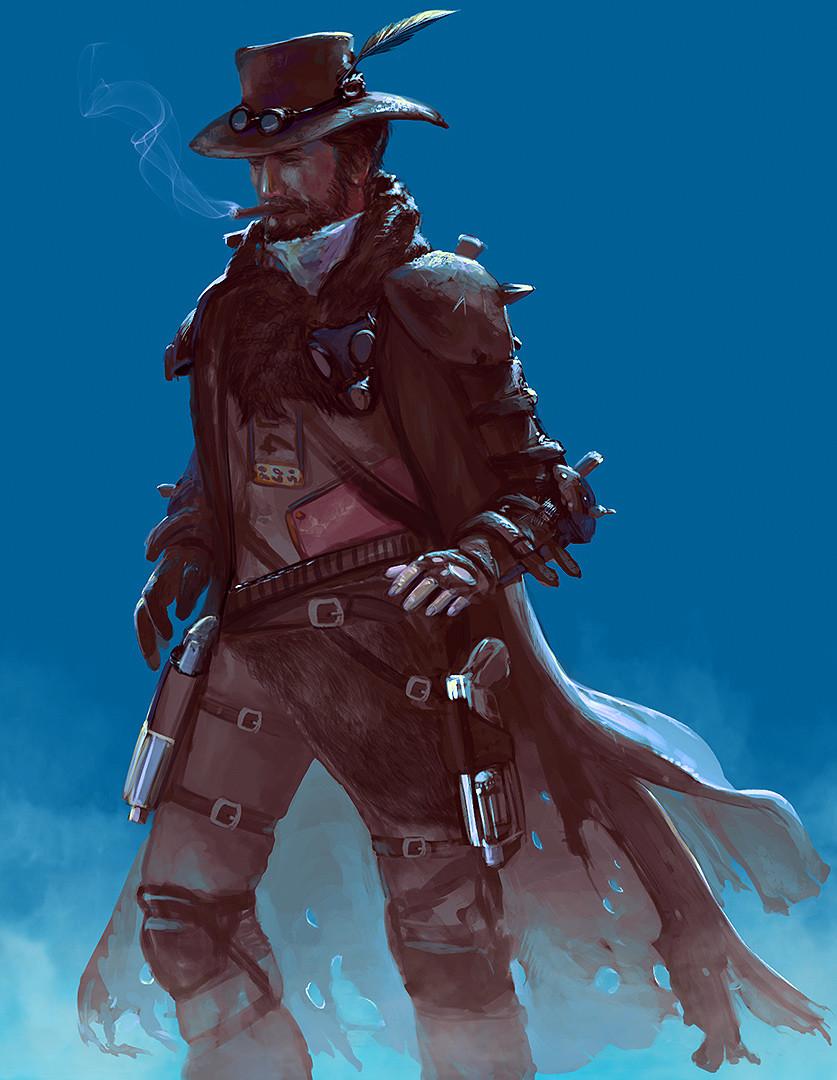 Gunslinger Sketch
