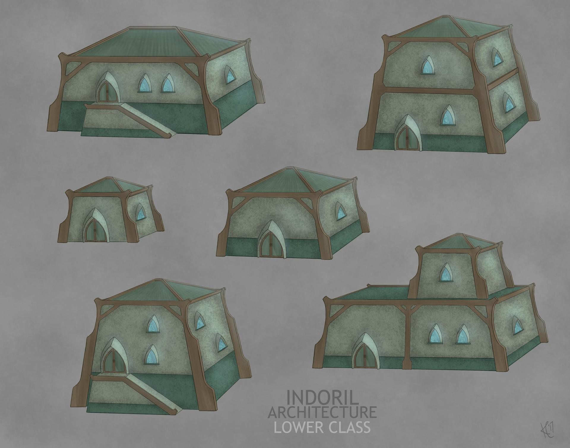 ArtStation - Morrowind Architecture, Kate Landels