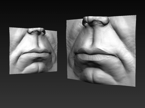 Male Mouth Study