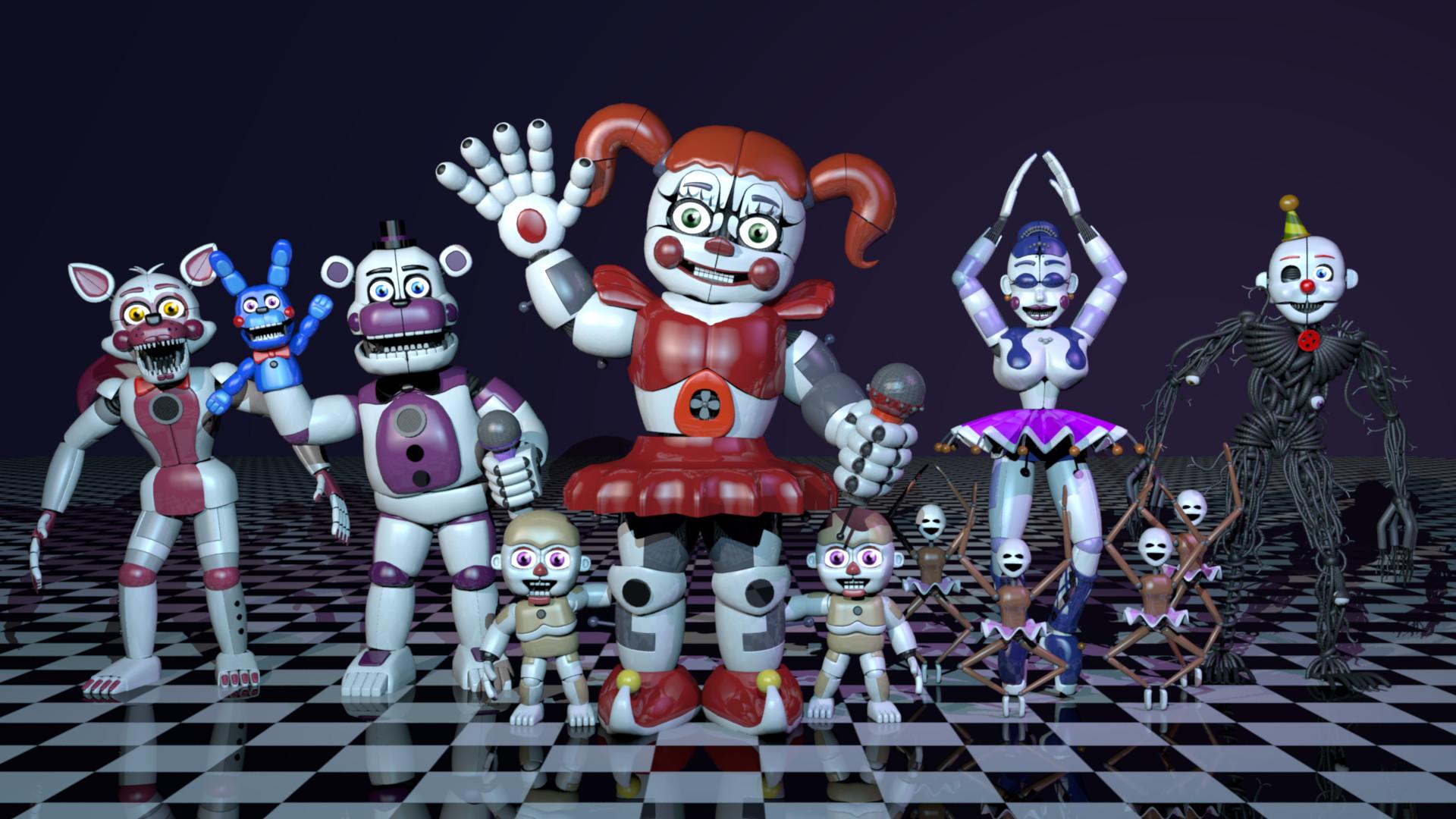 ArtStation - Five Nights at Freddy's: Sister Location Fan-Made