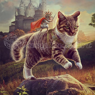 Vasilyna holod cat and mouse