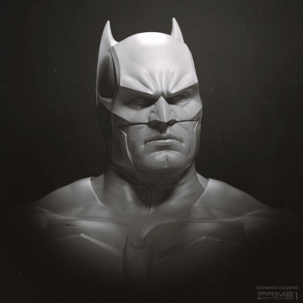 Noel Batman - All Prime1 statues are a team effort.