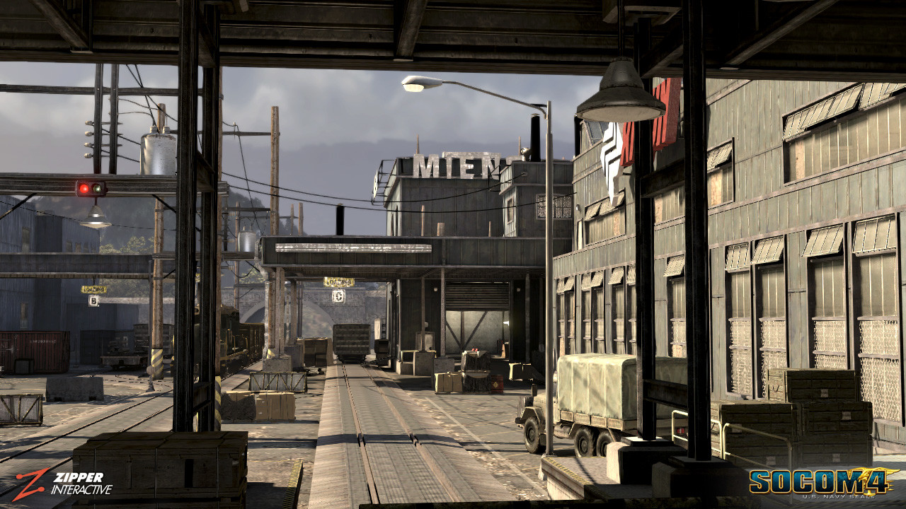 Responsible for architecture, world building, and the modeling/ texturing of multiple warehouses featured in this level.