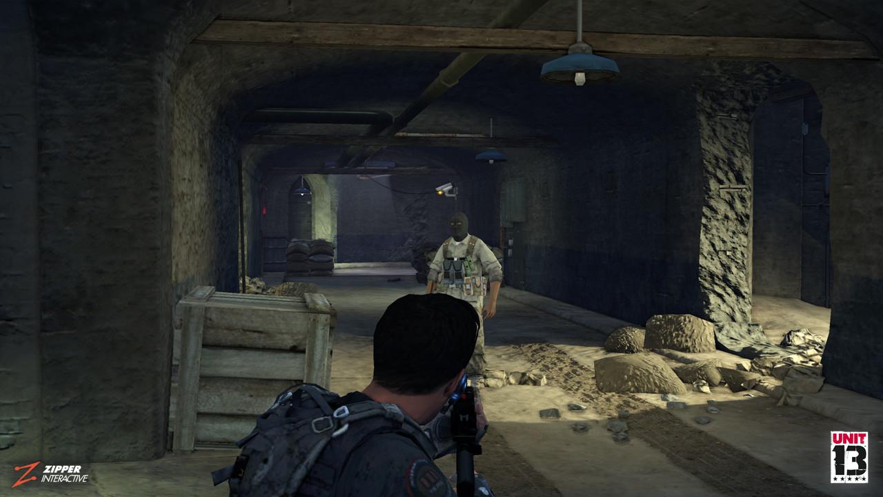 Makeshift Bunker.