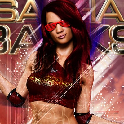 Roger patterson jr sasha banks
