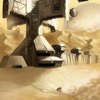 Michael rookard desert trade station mlr wip3