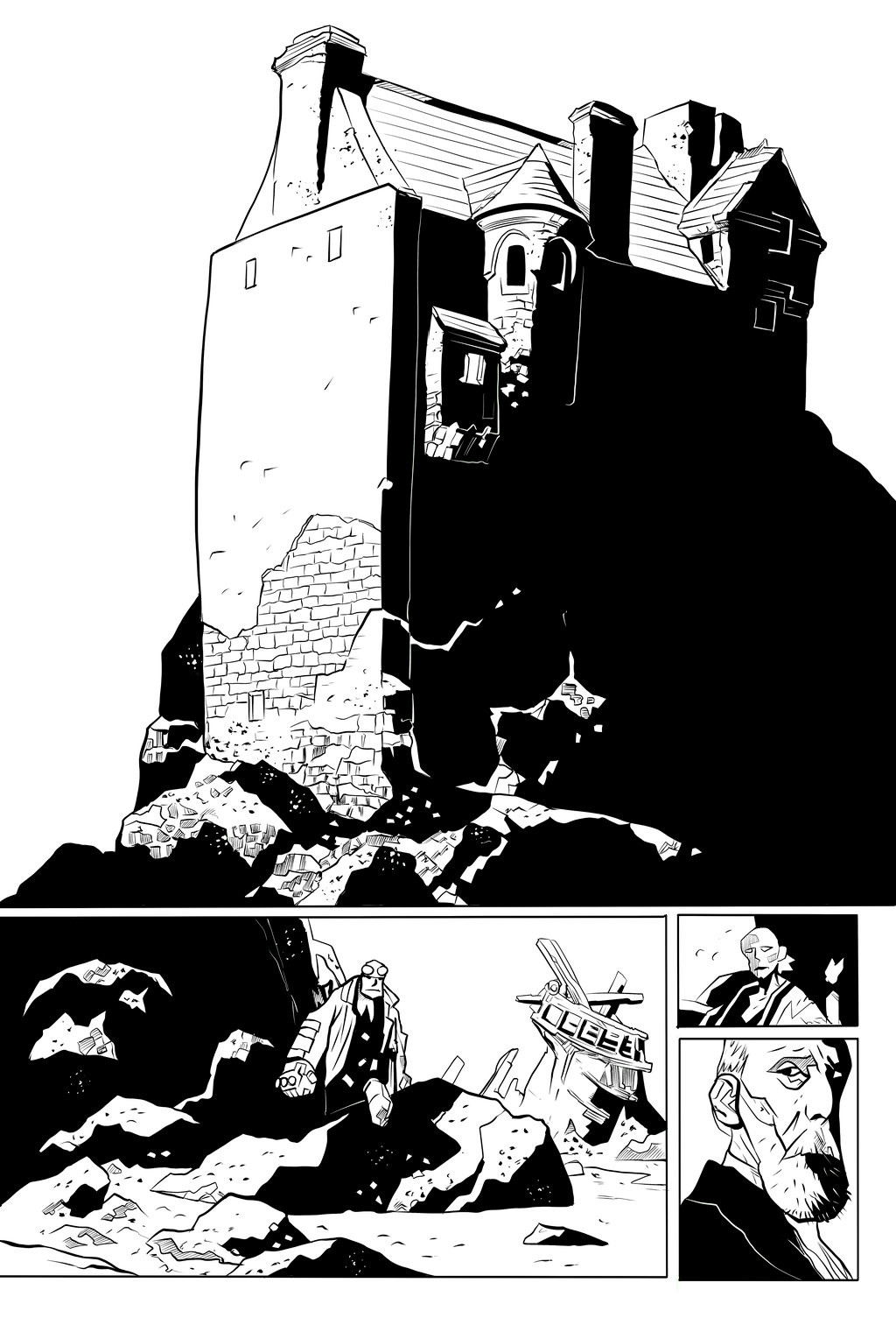 Hell Boy - The Island Sample Page 1 of 5