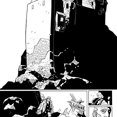 Matt james hellboy the island sample page 1 of 5 by snakebitartstudio db3vbu3