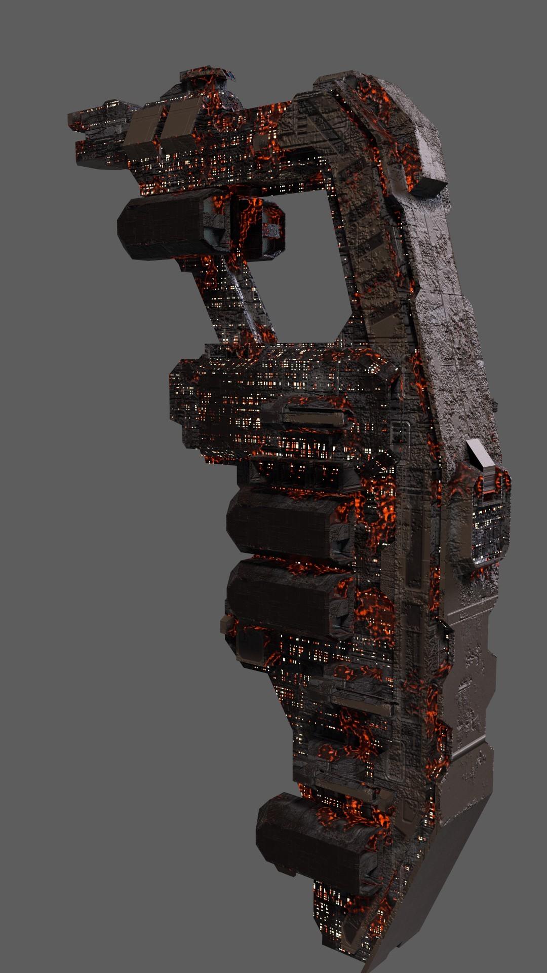 Conceptual damage texture.