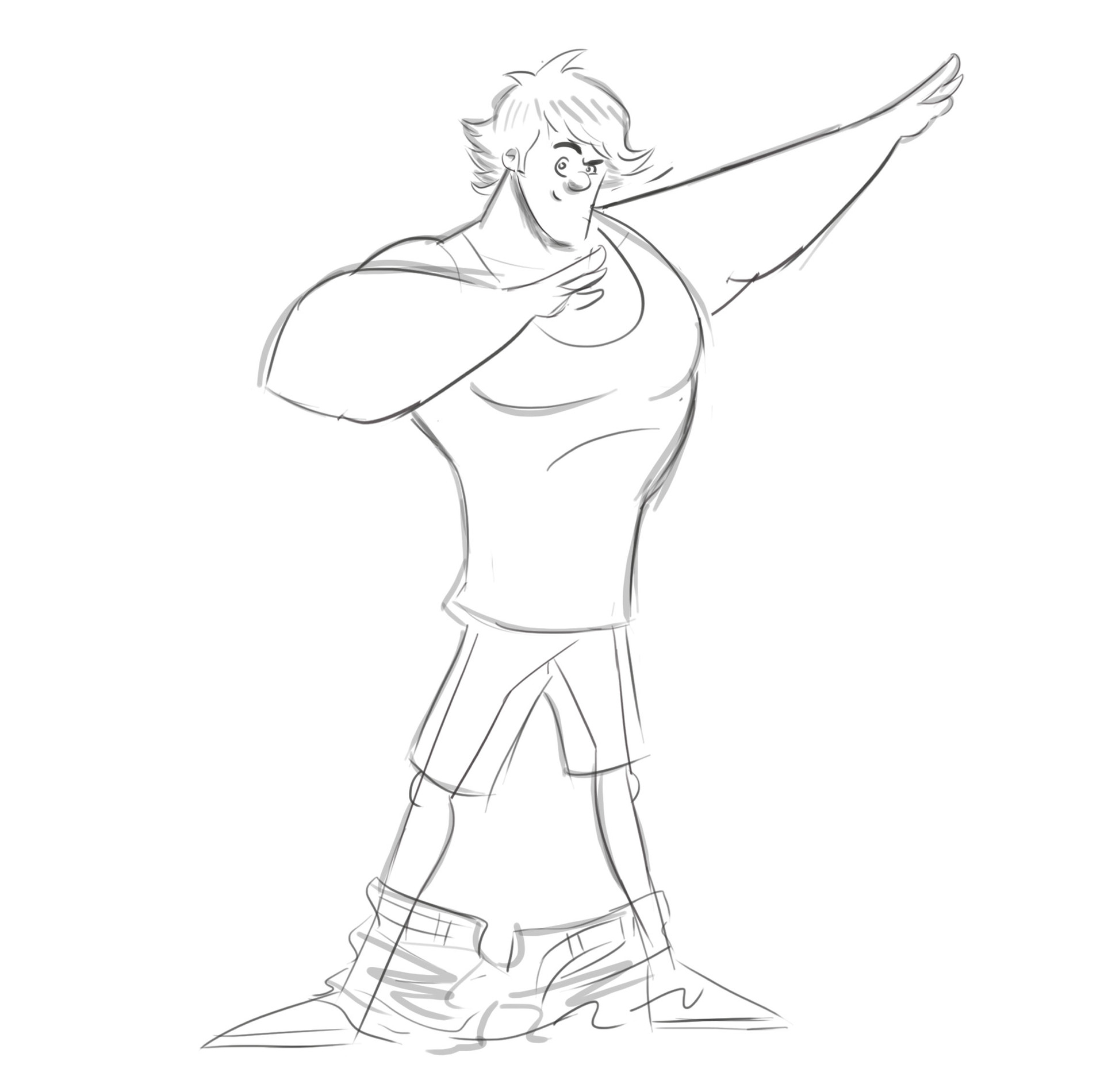Logan paul base sketch