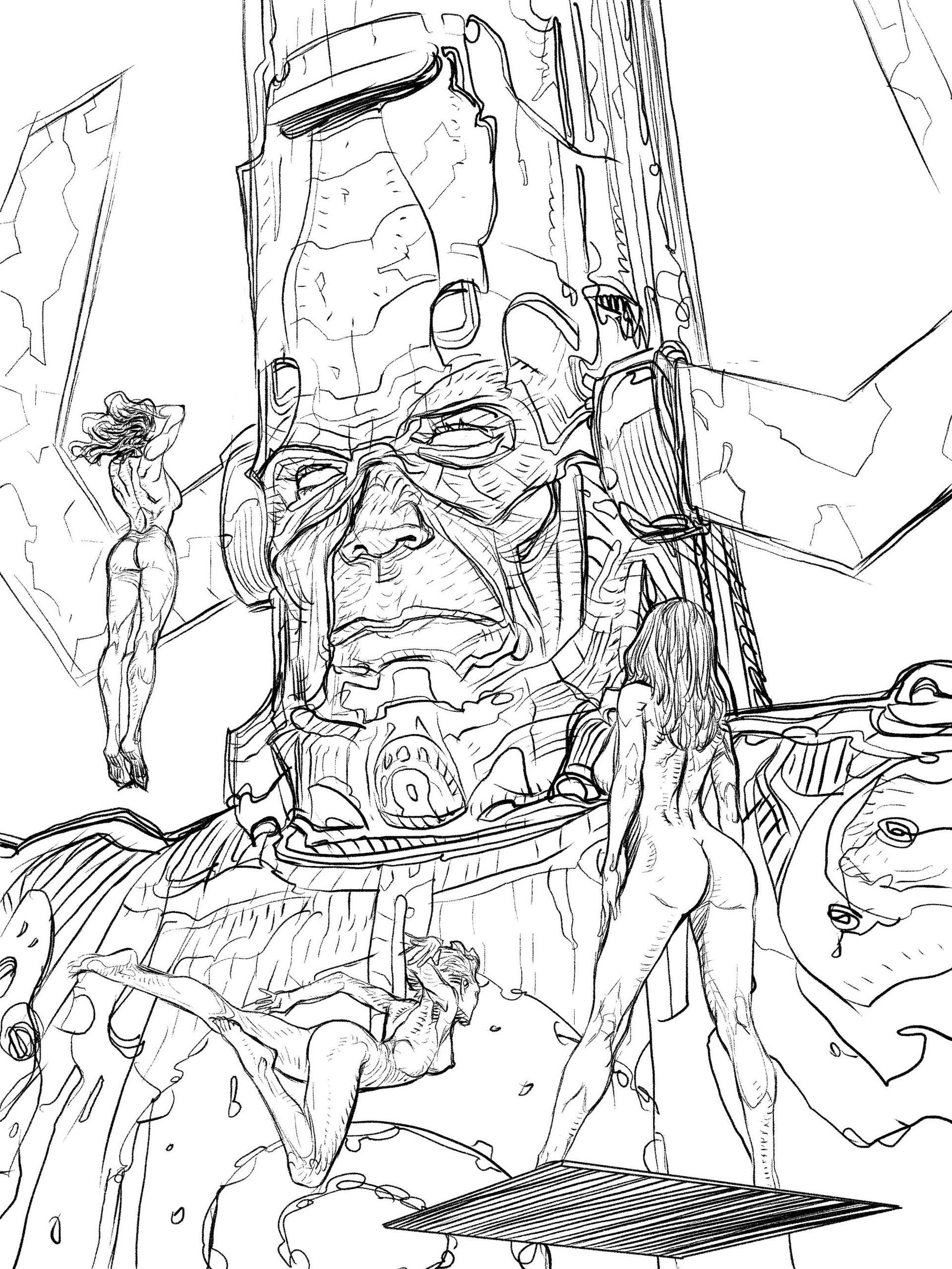 Daniele afferni daniele afferni artist galactus ink