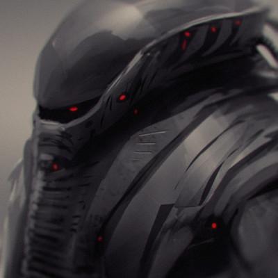 Oliver wetter alien warrior concept