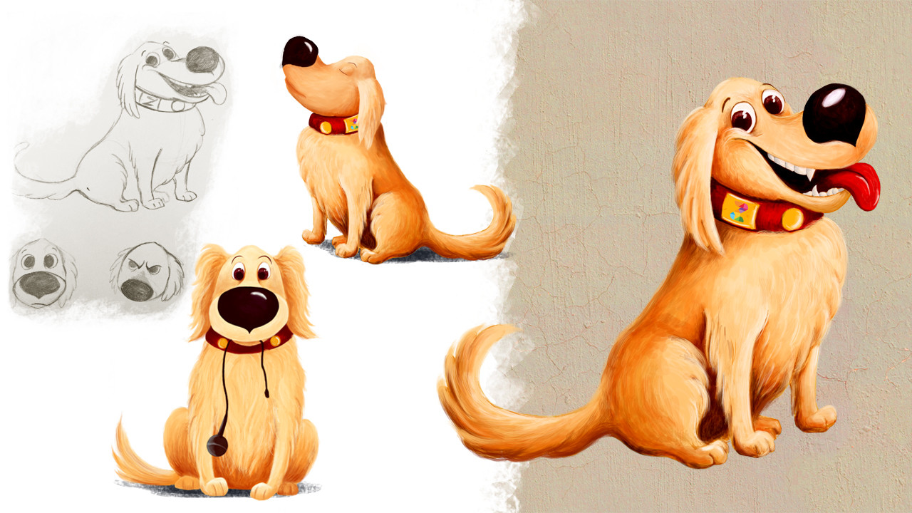 DigitalKidZ Imagination board game character design - Dog