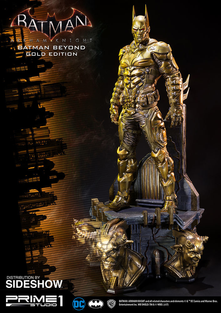 Alvaro ribeiro dc comics batman arkham knight batman beyond gold edition statue prime1 902958 03