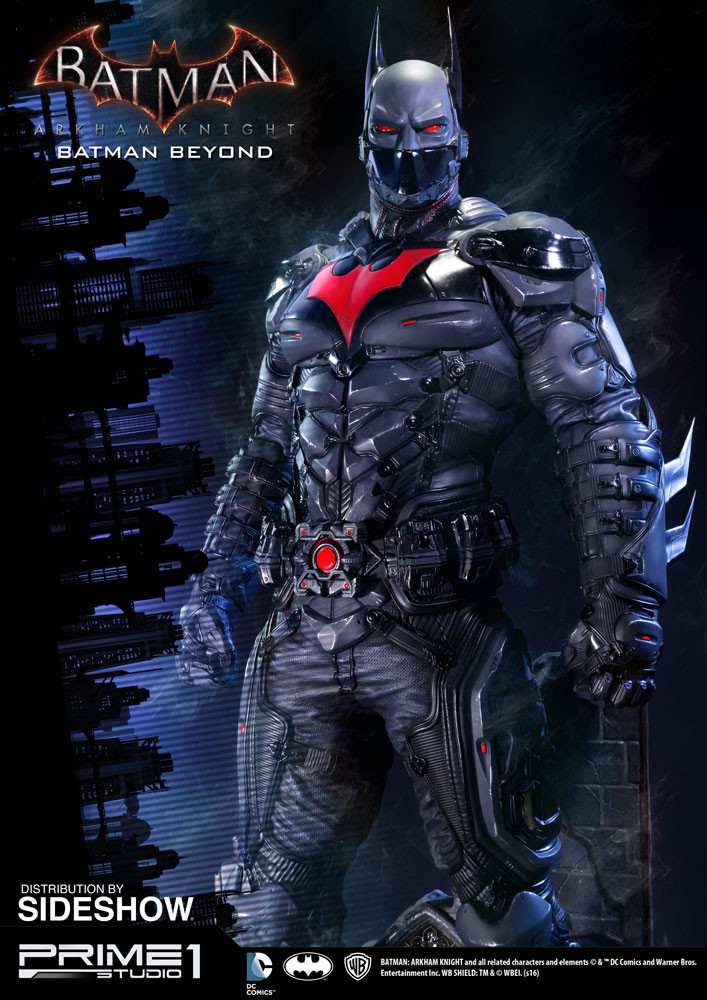 Alvaro ribeiro dc comics batman arkham knight batman beyond statue prime 1 studio 902683 02