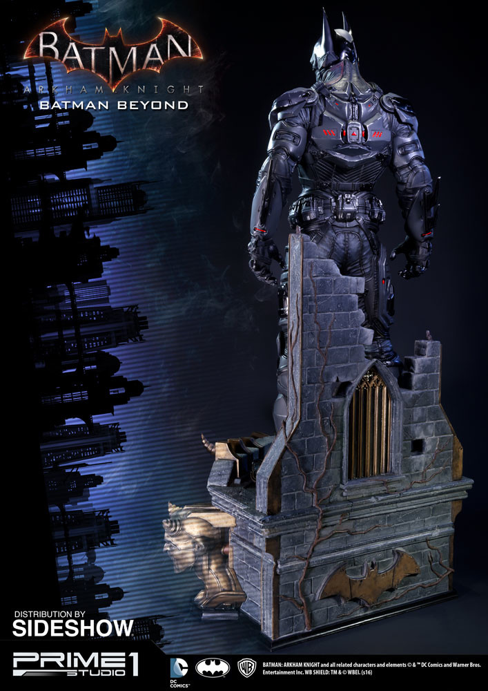 Alvaro ribeiro dc comics batman arkham knight batman beyond statue prime 1 studio 902683 08