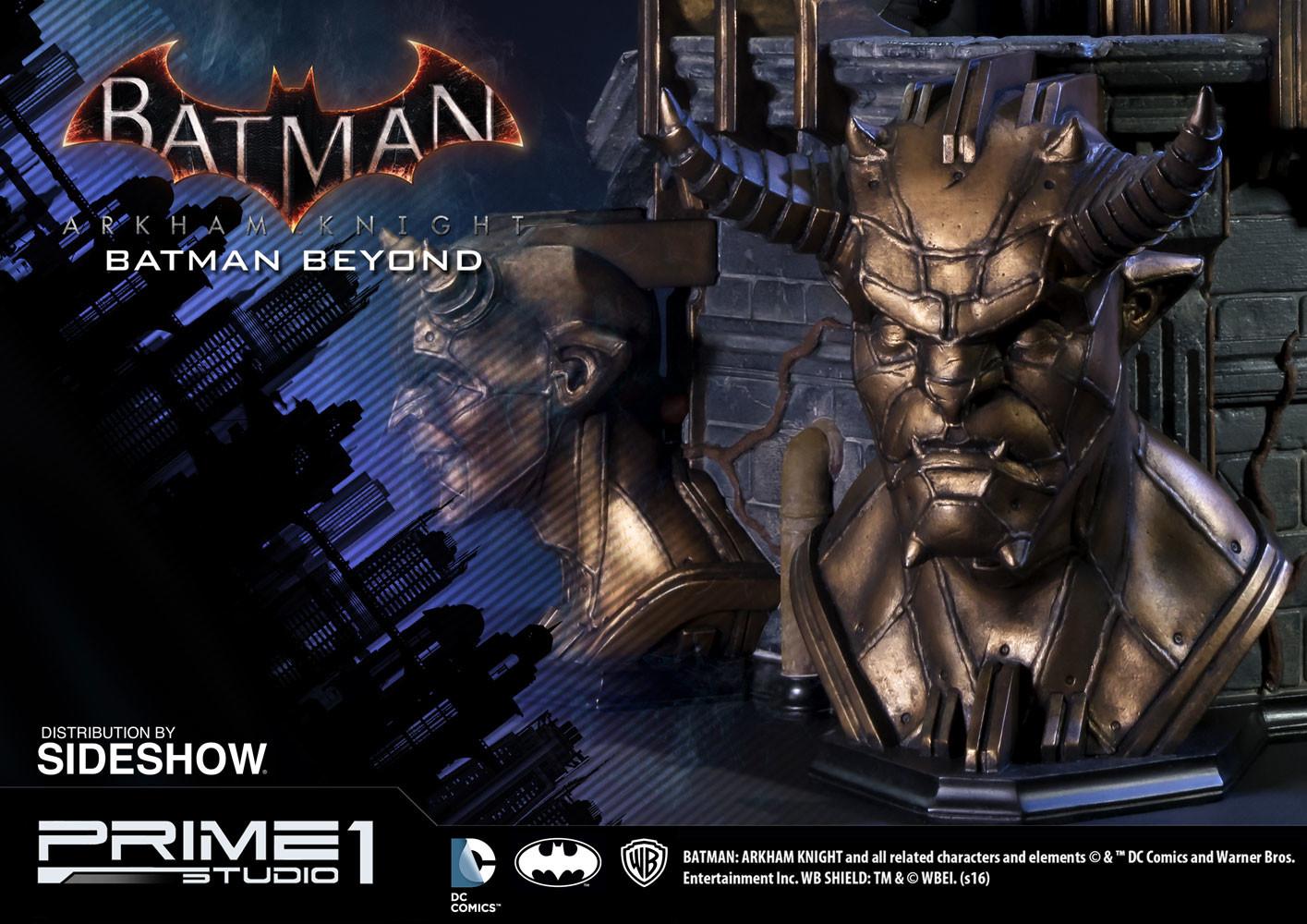 Alvaro ribeiro dc comics batman arkham knight batman beyond statue prime 1 studio 902683 22