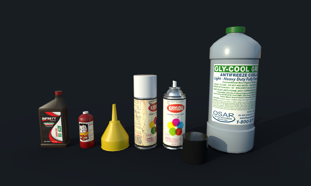 Random Bottles and Cans
