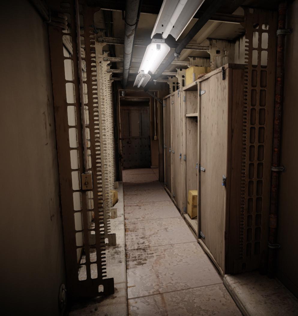 Francisco cruz hallway 14a